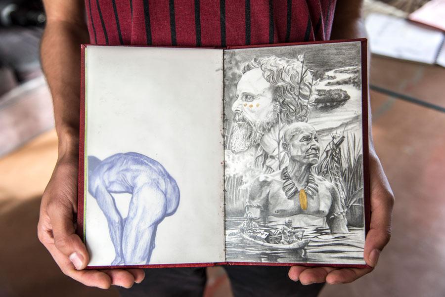 Dibujos En Libretas: Las Libretas De Dibujo De 10 Artistas Colombianos