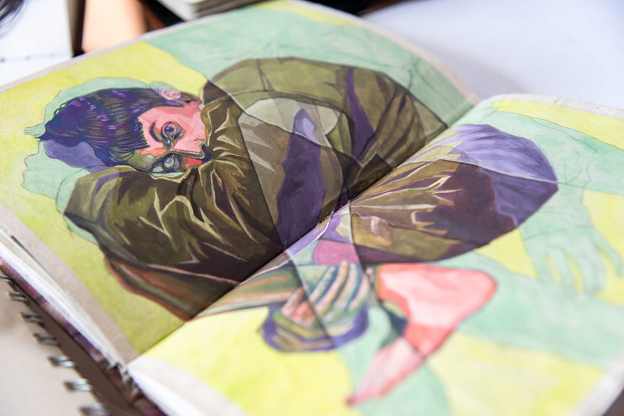 Libretas De Dibujo De Un Artista Freelance: Las Libretas De Dibujo De 10 Artistas Colombianos