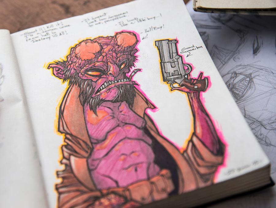 Las Libretas De Dibujo De 10 Artistas Colombianos Revista Bacánika