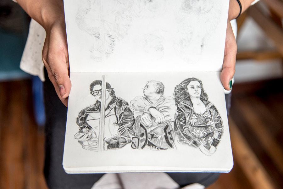 De Dibujo En Dibujo Estrenando Libreta: Las Libretas De Dibujo De 10 Artistas Colombianos