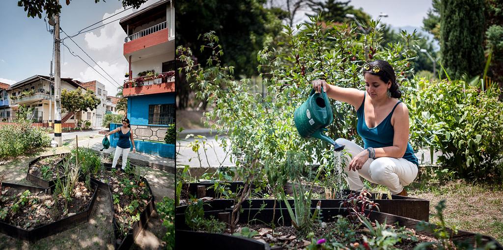 Bacanika huertas urbanas 04 - Huertas públicas en las comunas de Medellín.