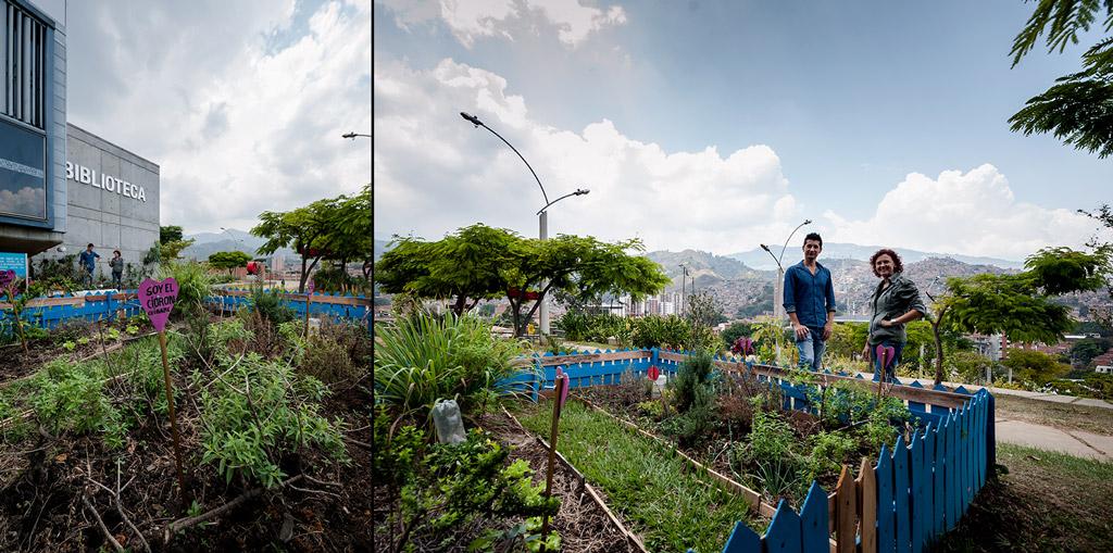 Bacanika huertas urbanas 06 - Huertas públicas en las comunas de Medellín.