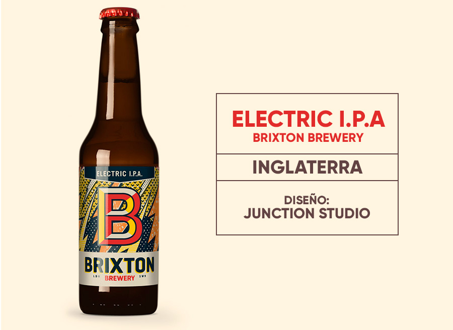 Electric I P A- -Brixton Brewery