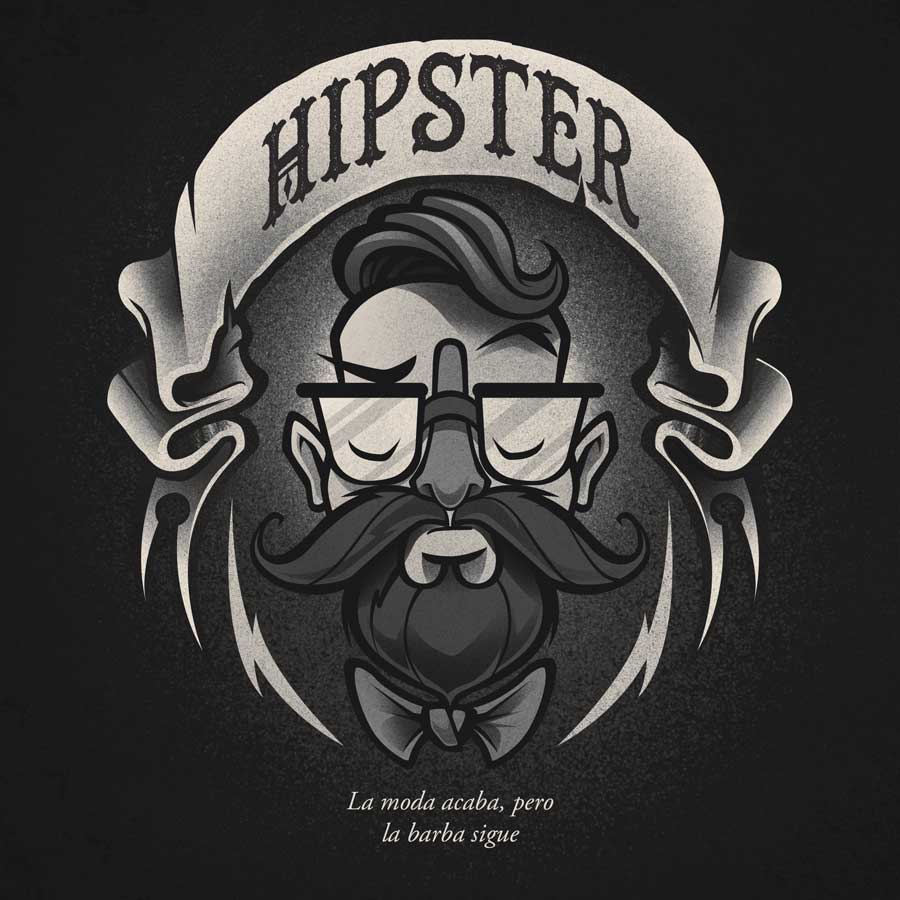 Barbas hipster