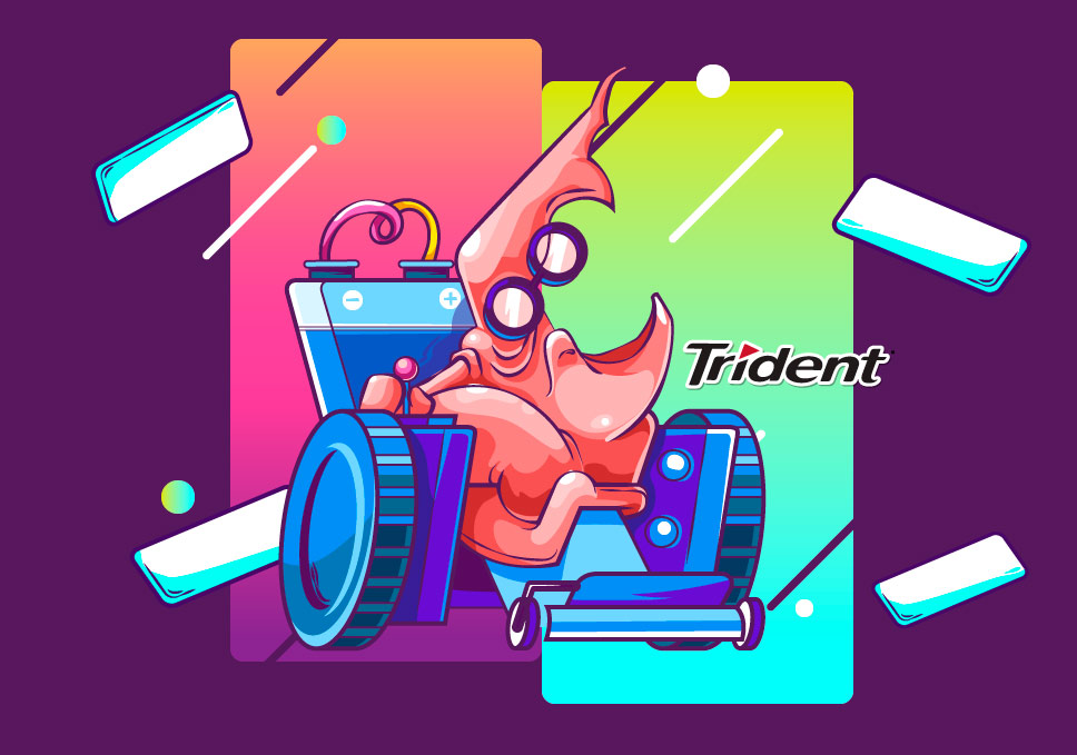 chicles cosa trident