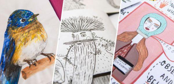 Las Libretas De Dibujo De 10 Artistas Colombianos