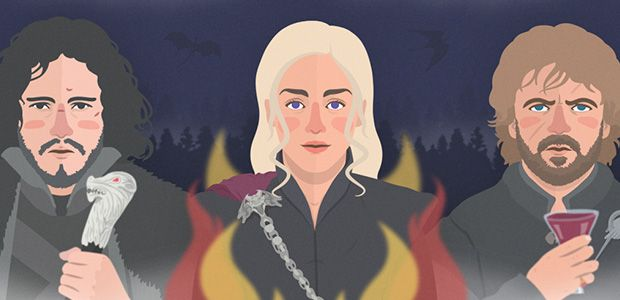 Game of Thrones y sus personajes