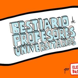 Bestiario de profesores universitarios