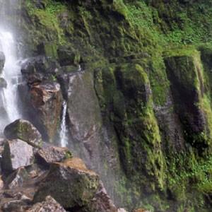 La cascada más alta de Colombia