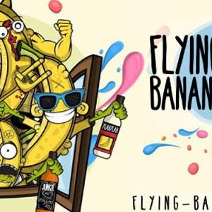 El banano volador