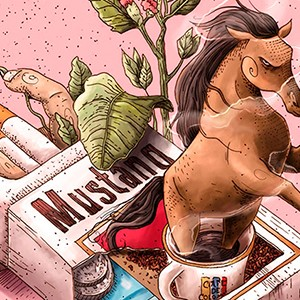 Mustang: adiós a la leyenda del caballo de humo