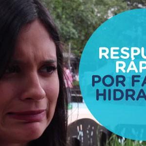 RESPUESTAS RÁPIDAS POR FALTA DE HIDRATACIÓN