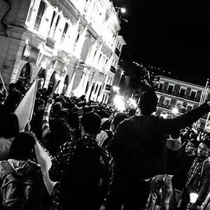 Las marchas por la paz