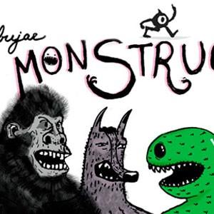Instrucciones para dibujar monstruos en servilletas de restaurantes